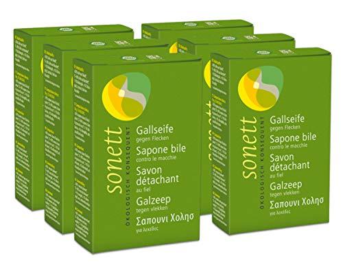 6x Sonett Gallseife 100 g