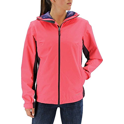 adidas Damen Outdoor 2-lagige Wandertag Color Block Jacke, Damen, Super Blush/Mineral Red, Small