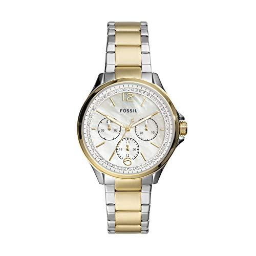 Fossil - Reloj de Cuarzo de Acero Inoxidable para Mujer ES4781
