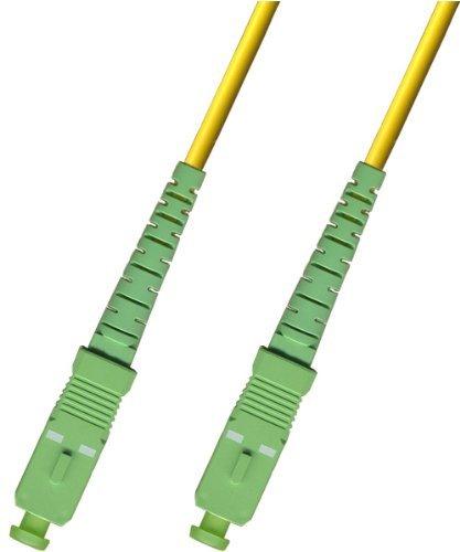 30M - Singlemode Simplex Fiber Optic Cable (9/125) - SC/APC to SC/APC