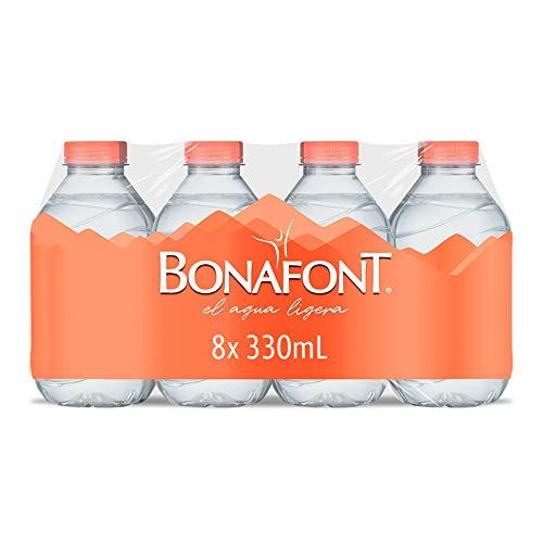 Bonafont Bonafont Agua Natural 8x330mL, Natural, 2640 mililitros