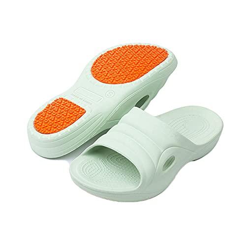 [Sanaris] サンダル スリッパ お風呂 ベランダサンダル 歩きやすい マッサージスリッパ 滑り止め