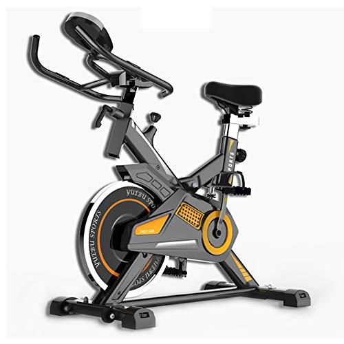 KuaiKeSport Bicicleta Spinning Profesional,Bicicleta Estatica LCD Multifunción Electronica Sensor de Frecuencia Cardiaca,Resistencia...