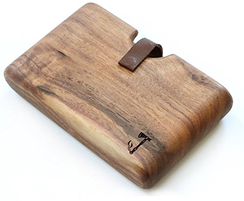 Wood Wallet By Slim Timber (Walnut)