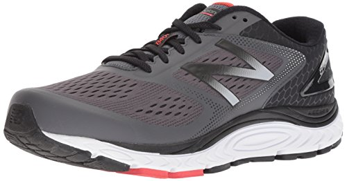 New Balance Men's 840v4 Running Shoe, Dark Grey, 10.5 2E US