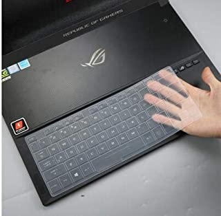 "CaseBuy Keyboard Cover Compatible ASUS ROG Zephyrus S Gaming Laptop, 15.6"" ASUS ROG GX501GI-XS74 GX531GS-AH76 / 17.3 inch ..."
