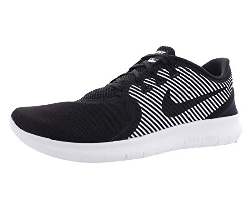 Nike Mens Free Rn CMTR 2017 Low Top, Black/Black-White-Anthracite, Size 12.0