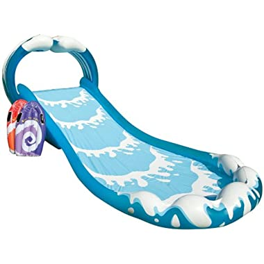Intex Surf 'N Slide Inflatable Play Center, 174  X 66  X 64 , for Ages 6+