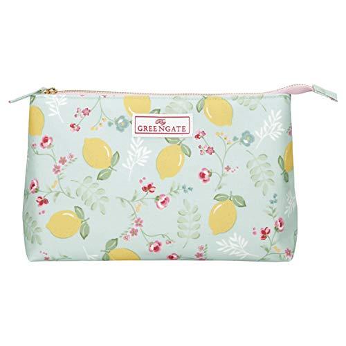 GreenGate - Kosmetiktaschen - Kulturtasche - Limona - groß - 27 x 10 x 17cm