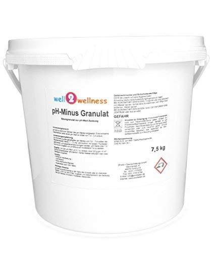 well2wellness pH Minus Granulat/pH Senker Granulat 7,5 kg