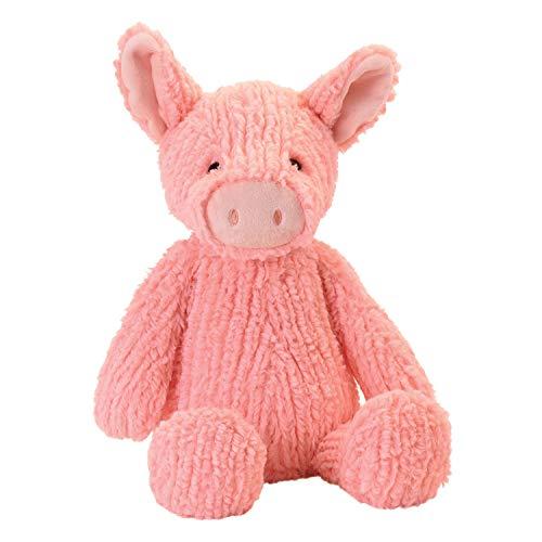 "Manhattan Toy Adorables Peaches Pig Stuffed Animal, 11"""
