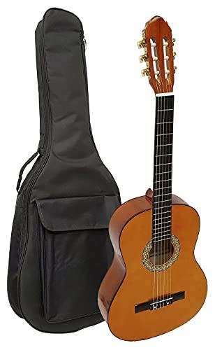 Guitarra clásica española Romanza mod Primera 4/4 con funda 7mm calidad y precio - rockmusic