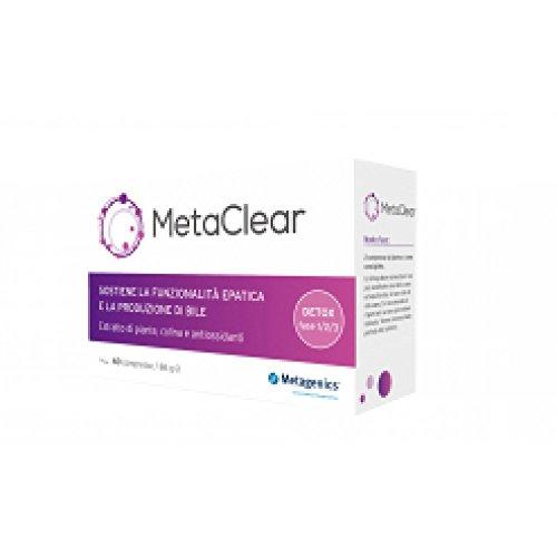 Metagenics Integratore Alimentare Metaclear, 60 Capsule