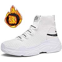 Zapatillas de Deporte de Mujer Air Mesh Transpirable Calzado Deportivo Superior Superior Calzado con Cordones al Aire Libre para Correr Compras Fitness