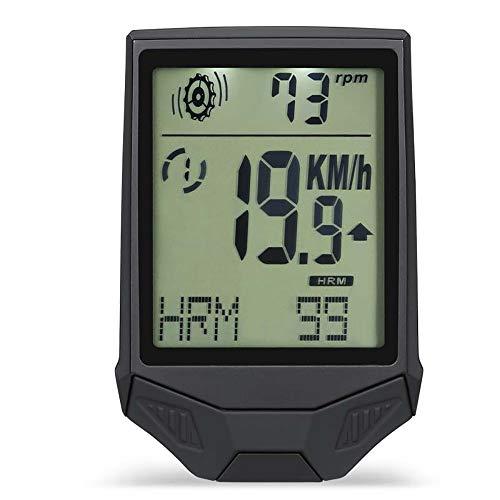 KYEEY Bicicleta con cuentakilómetros Gran Pantalla inalámbrica Velocidad + + cadencia del...