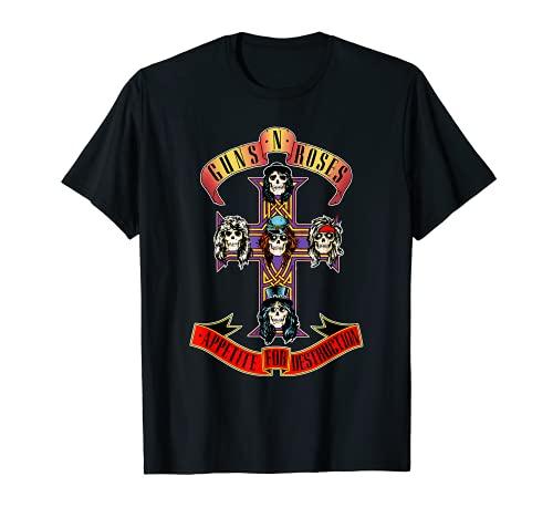 Guns N' Roses Official Cross T-Shirt