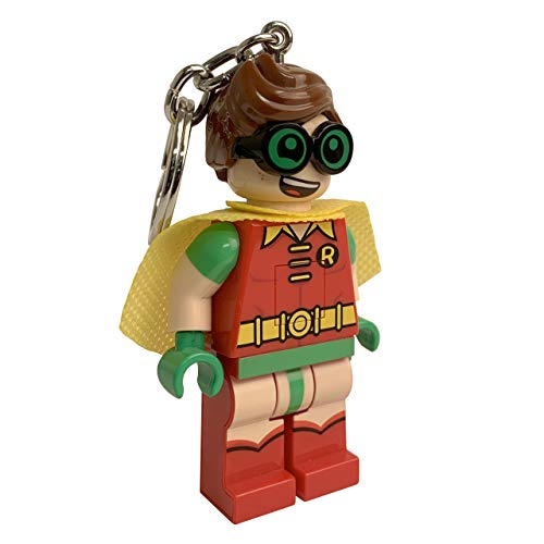 LEGO Batman Movie Robin Keychain Light - 3 Inch Tall Figure
