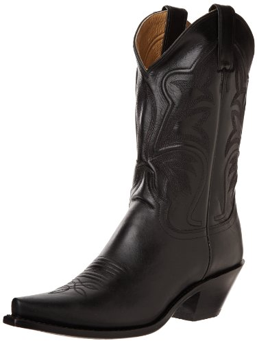 "Hot Sale Justin Boots Women's Western Fashion 11"" Boot Narrow Square Toe Leather Outsole,Black Torino Cow,7.5 B US"