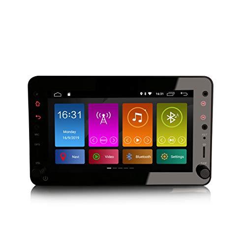 ERISIN 7 Pulgadas Android 10.0 Autoradio para Alfa Romeo Brera Spider 159 Sportwagon Soporte GPS Sat Nav Bluetooth WiFi 4G Dab + RDS Enlace Espejo TPMS CarPlay Incorporado Amplificador DSP