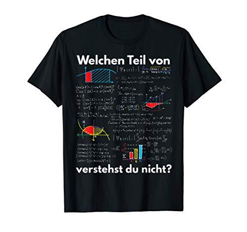 Mathematik Algebra Gymnasium Mathe Spruch Lustig Geschenk T-Shirt
