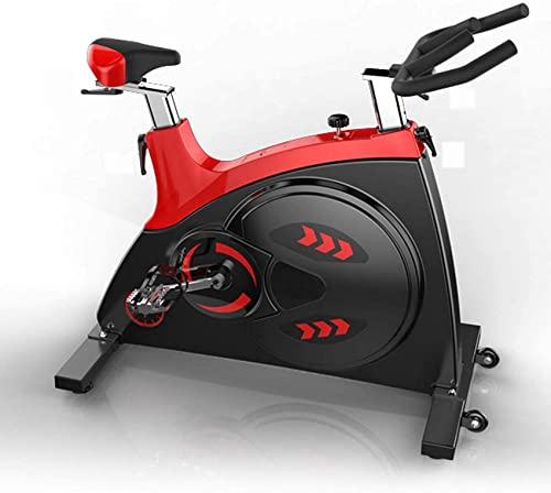 ZCYXQR Cintura in Pelle Muta Cyclette Sport Fitness Bike Cyclette per Uso Domestico Palestra (Sport Indoor)