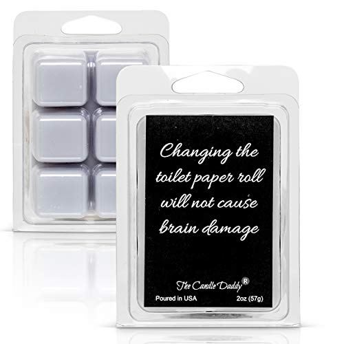 White Sage & Lavender Scented Wax Melts/Cubes - 2 oz - Changing The Toilet Paper Roll Won't Cause Brain Damage