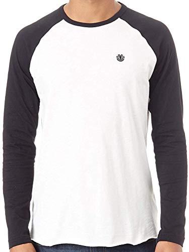 Element Blunt T-Shirts, Chemises et Polos Homme Flint Black FR: M (Taille Fabricant: M)