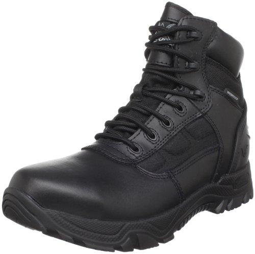 """Thorogood Men's The Deuce Series 6"""" Waterproof Tactical Side Zip Boot, Black - 12 M"""