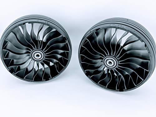 Michelin X Tweel Turf Set of Two Wheels for Zero Turn Mowers 13.5X6.5R6 - A-B122628TWC