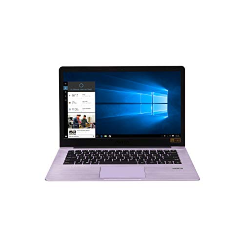 "AVITA 14"" Pura [CN6Q14] AMD A9 8GB RAM 128GB SSD IPS 1920 x 1080 HD Screen Windows 10 Laptop for Online Class (Glossy Purple)"