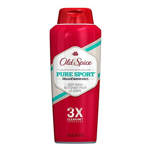 Old Spice High Endurance Body Wash, Pure Sport, 18 fl oz (532 ml)