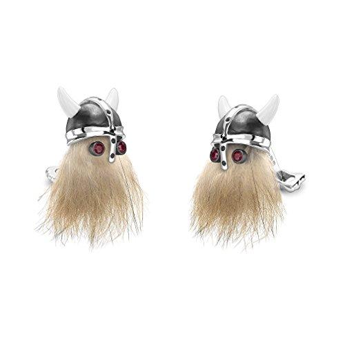 Deakin and Francis Viking Skull Cufflinks