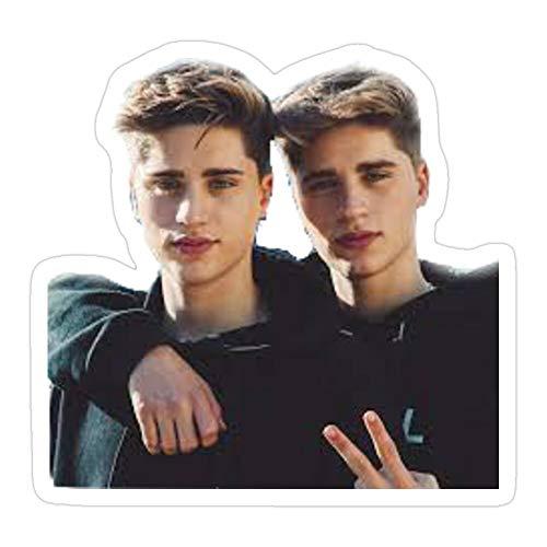 B. Strange Mall Martinez Twins Ivan Martinez Emilio Martinez Stickers (3 Pcs/Pack)