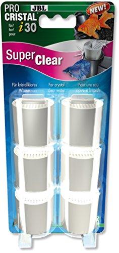 JBL Super Clear Set 6Wasserfilter-Kartuschen für ProCristal i30Für Aquarien