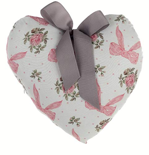 Cuscino cuore Blanc Mariclò 30x30 cm