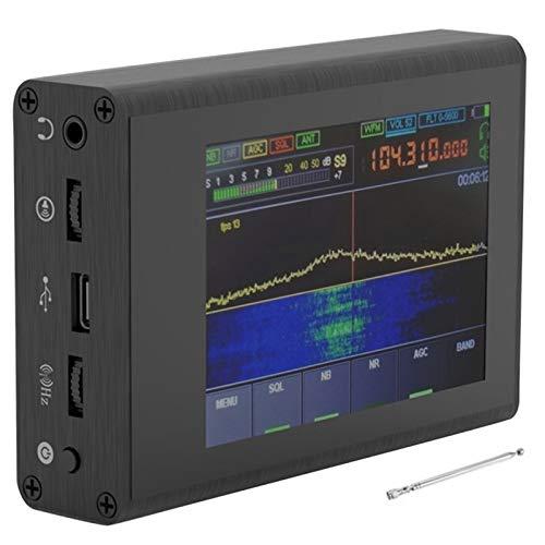 Fauge 50KHz-200MHz Malachite SDR Receiver Malahit Shortwave Radio 3.5inch Screen Instruments Network Analyzers with Antenna