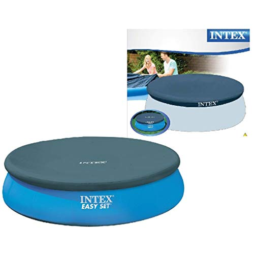 Intex 28020 - Cobertor piscina hinchable Easy Set 244 cm