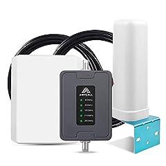 2G 3G 4G Répéteur mobile pour tous les transporteurs européens 800/900/1800/2100/2600MHz (bande 20/8/1/3/7) GSM UMTS LTE Amplificateur de signal Auto Mobile Amplificateur
