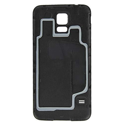 BACKBATTERYDOOR/Funda De Batería De Plástico Función Impermeable para Galaxy S5 / G900, Reemplazo para la Cubierta de Vidrio de la cámara Trasera (Color : Azul)