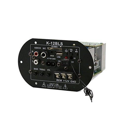 DealMux Estéreo Coche subwoofer decodificador Tablero del Amplificador del Altavoz Placa Madre