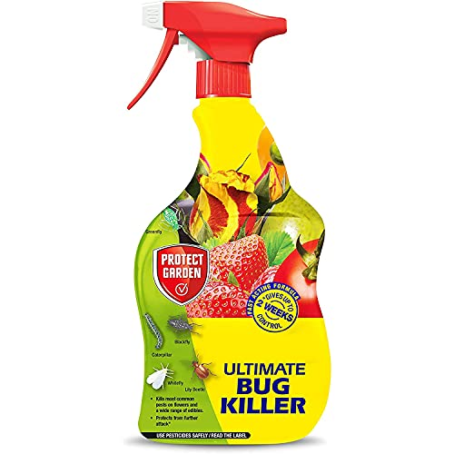 CUQOO Ultra-strong Bug Spray for Plants in 900ml – Premium Fly Killer...