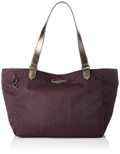 Kipling - Lots Of Bag, Bolsos maletín Mujer, Violett (Deep Velvet), 52x28x18 cm (B x H T)