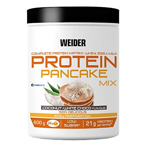Weider, Protein Pancake Mix, Kokos-Weiße Schokolade, 1er Pack (1x 600g)