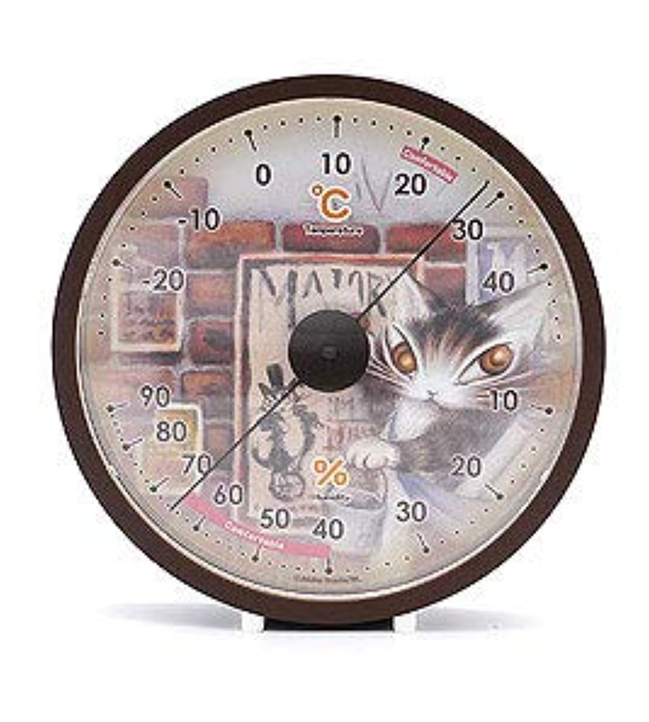 コロニーコスチューム未使用ダヤン 温湿度計 タシルの赤レンガ