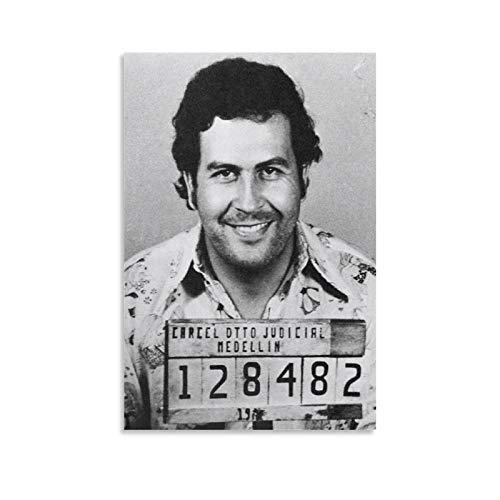 Pablo Escobar - Póster decorativo para pared, diseño de cuadros, 30 x 45 cm