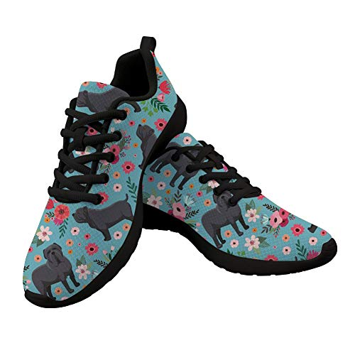 Woisttop Zapatillas de correr para hombre y mujer, ligeras, para correr por la ciudad, con cordones, atlético, gimnasio, caminantes, transpirables, color, talla 43 EU