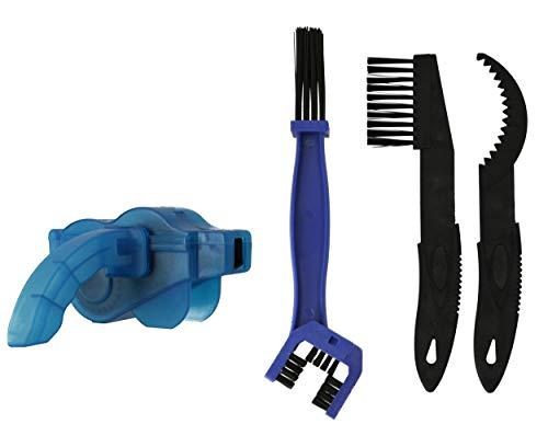 Lantelme Fahrrad Kettenreinigungsgerät Fahrradkettenreiniger Werkzeug im Set für Fahrradketten Reinigungsgerät 8302