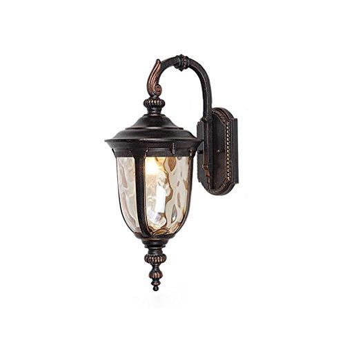 LRW Europese eenvoudige outdoor wandlamp, waterdicht balkonlicht, gang, gang, licht, deur, buitenverlichting
