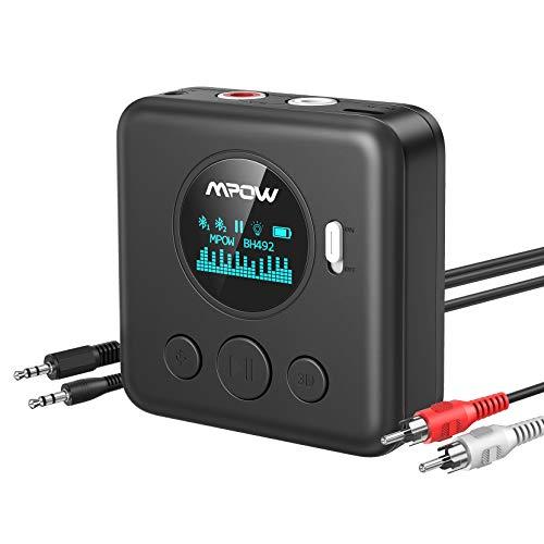 xMpow Bluetooth Receiver for Home Stereo System, Bluetooth 5.0 Receiver...