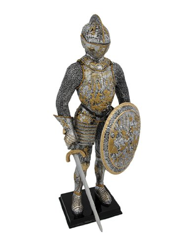 Veronese Design Medieval French Knight in Armor Statue Figure Armour